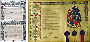 Letters Patent creating the office of Governor-General of Australia, and a grant of arms
