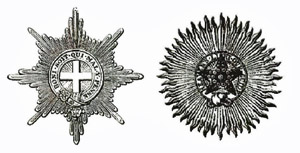 Stars of the Order of the Garter and of the Order of the Star of India